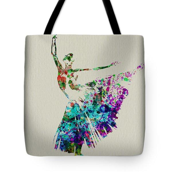 Gorgeous Ballerina Tote Bag by Naxart Studio