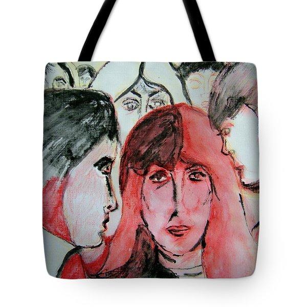 Gossip Tote Bag by Judith Redman