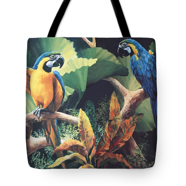 Gossips Tote Bag by Laurie Hein