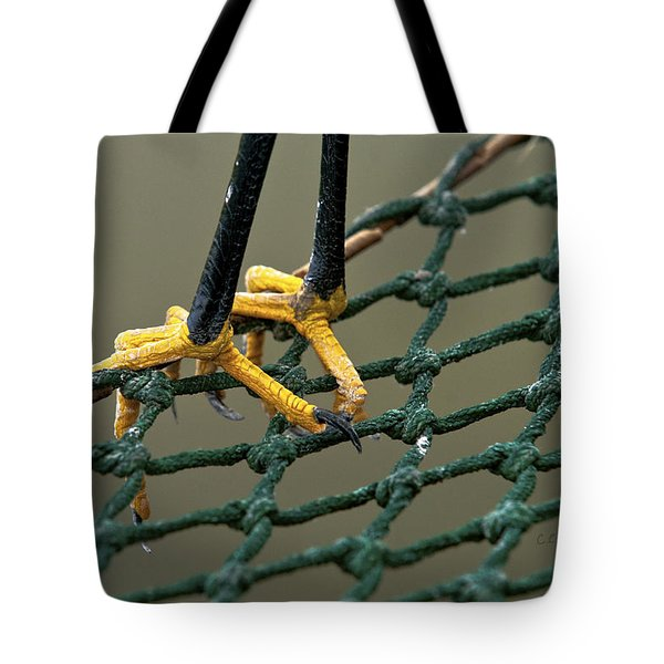Got A Grip Tote Bag by Christopher Holmes