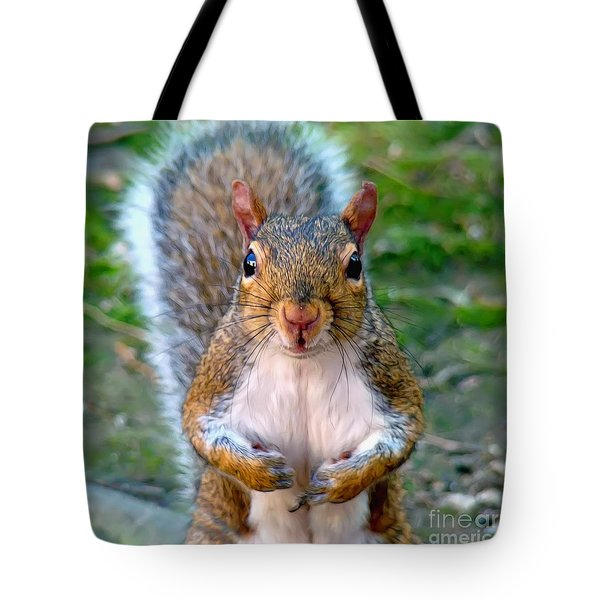 Got Any Peanuts Tote Bag by Sue Melvin