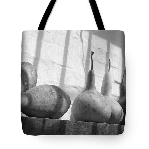 Gourds on a Shelf Tote Bag by Lauri Novak