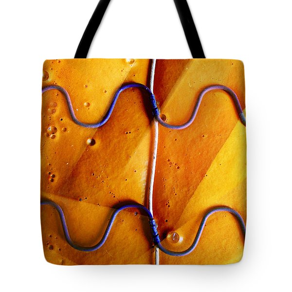 Government Cheese Tote Bag by Skip Hunt