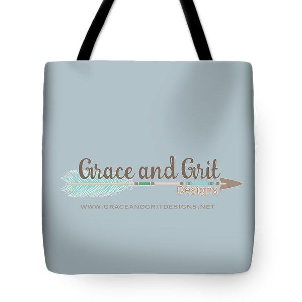 Grace And Grit Logo Tote Bag by Elizabeth Taylor