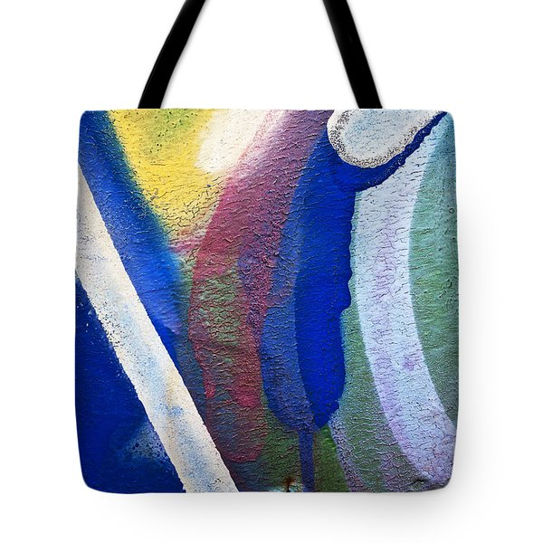Graffiti Texture V Tote Bag by Ray Laskowitz - Printscapes