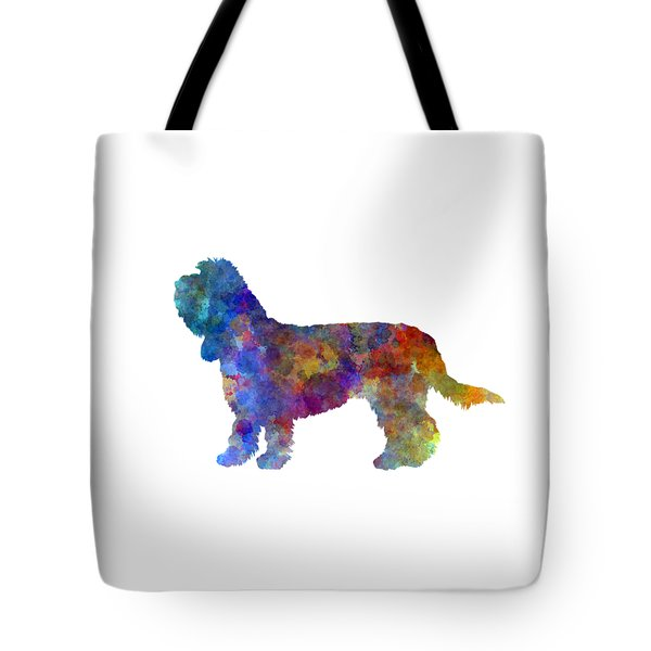 Grand Basset Griffon Vendeen In Watercolor Tote Bag by Pablo Romero
