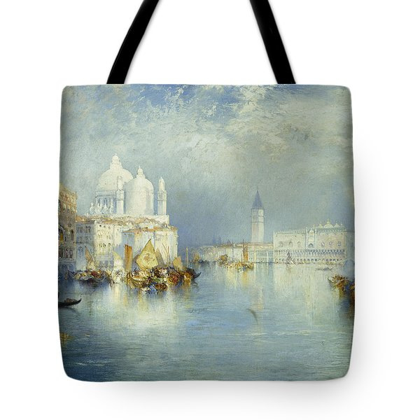 Grand Canal Venice Tote Bag by Thomas Moran