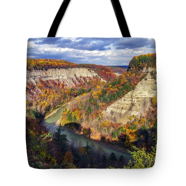 Grand Canyon Of The East Tote Bag by Mark Papke