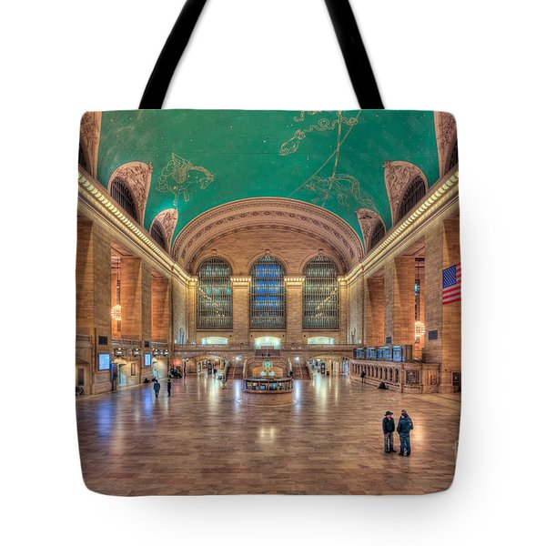 Grand Central Terminal V Tote Bag by Clarence Holmes