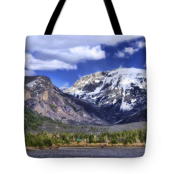 Grand Lake Co Tote Bag by Joan Carroll