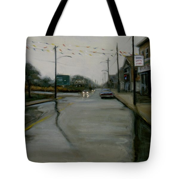 Grand Opening Tote Bag by Sarah Yuster