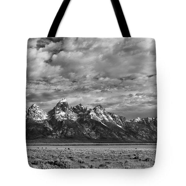 Grand Teton Majesty Tote Bag by Sandra Bronstein