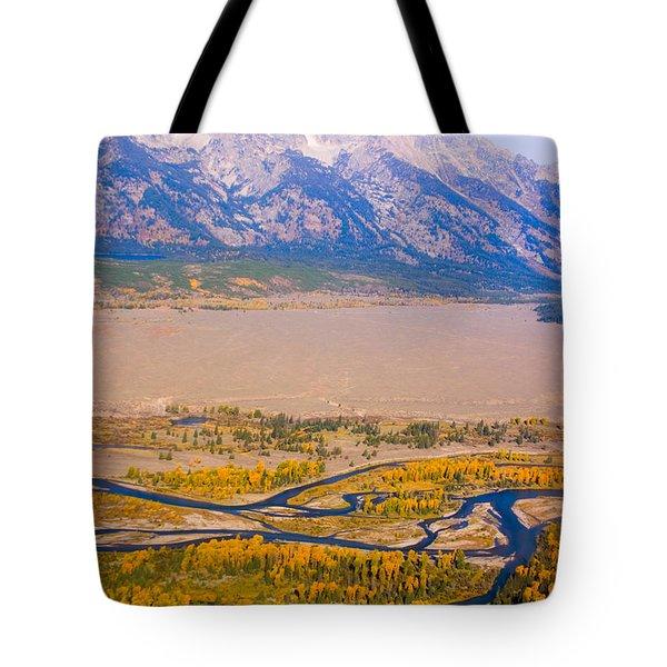 Grand Tetons Views Tote Bag by James BO  Insogna