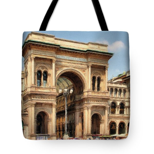 Grande Ingresso Tote Bag by Jeff Kolker