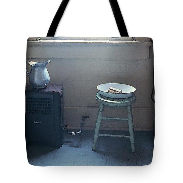 Grandma's Bathroom Tote Bag by KG Thienemann