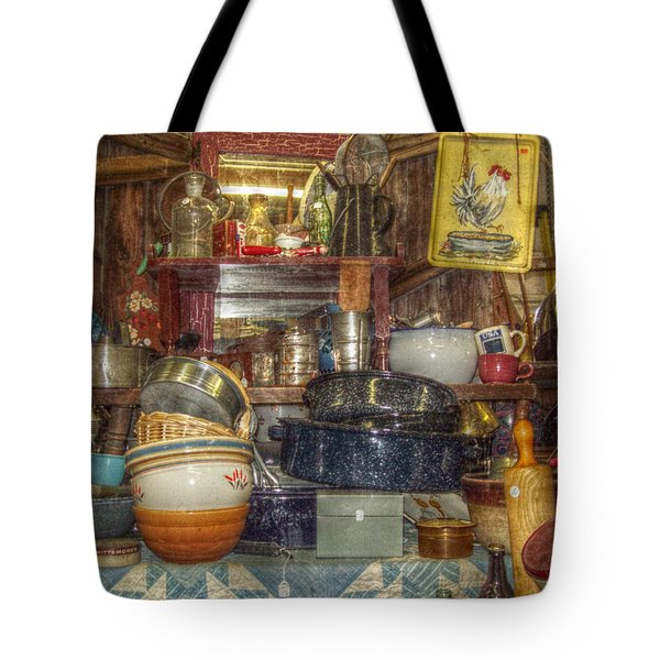 Grandmas Kitchen Tote Bag by Cindy Nunn