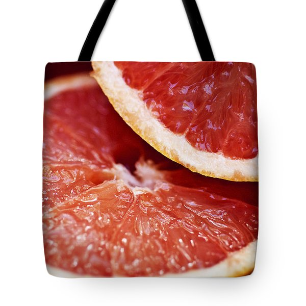 Grapefruit Halves Tote Bag by Ray Laskowitz - Printscapes