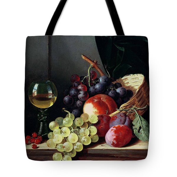 Grapes And Plums Tote Bag by Edward Ladell