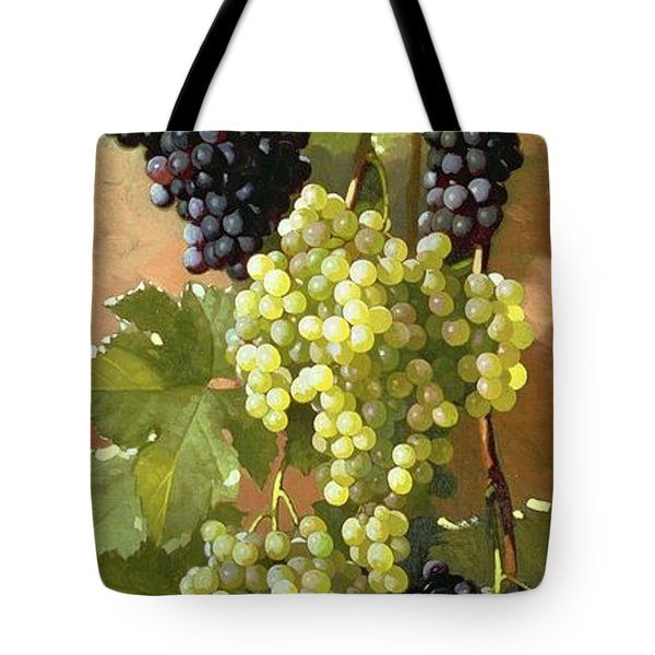 Grapes Tote Bag by Edward Chalmers Leavitt