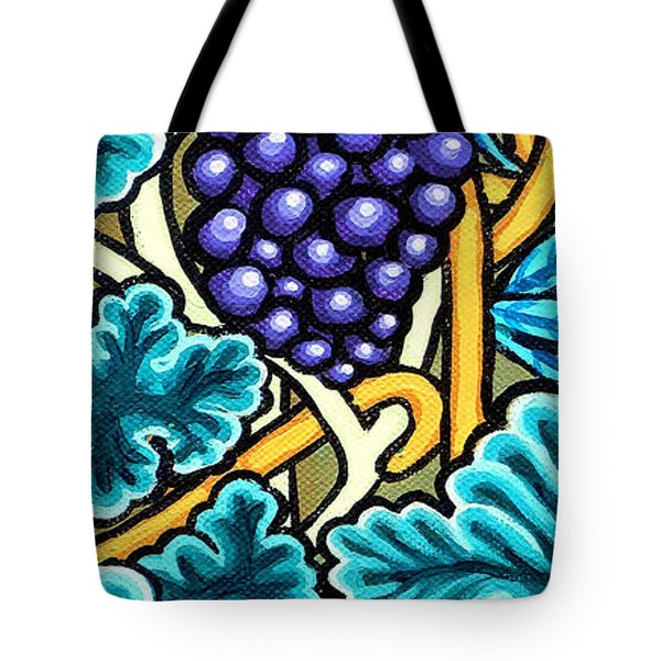 Grapes Tote Bag by Genevieve Esson