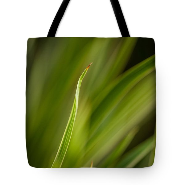 Grass Abstract 2 Tote Bag by Mike Reid