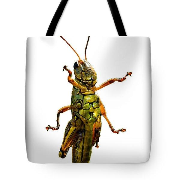 Grasshopper II Tote Bag by Gary Adkins