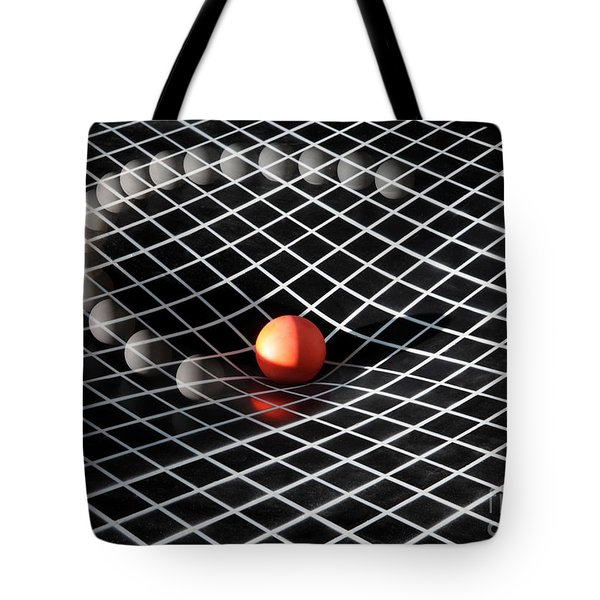 Gravity Simulation Tote Bag by Ted Kinsman