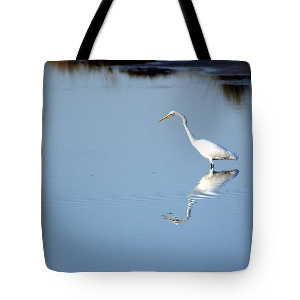Great Blue 2 Tote Bag by Marty Koch