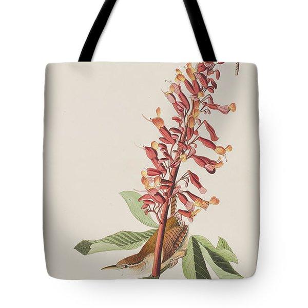 Great Carolina Wren Tote Bag by John James Audubon