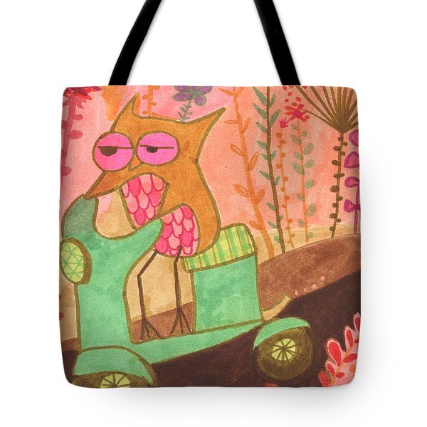 Great Escape Tote Bag by Kate Cosgrove