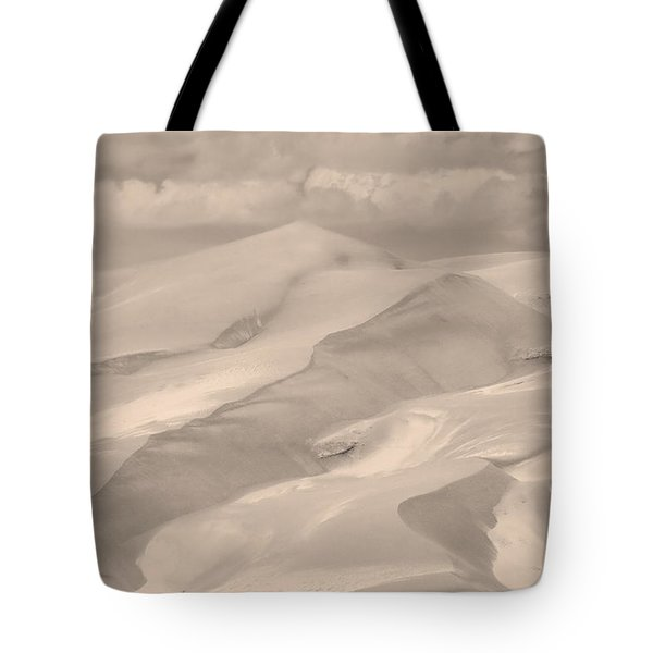 Great Sand Dunes  - In Sepia Tote Bag by James BO  Insogna