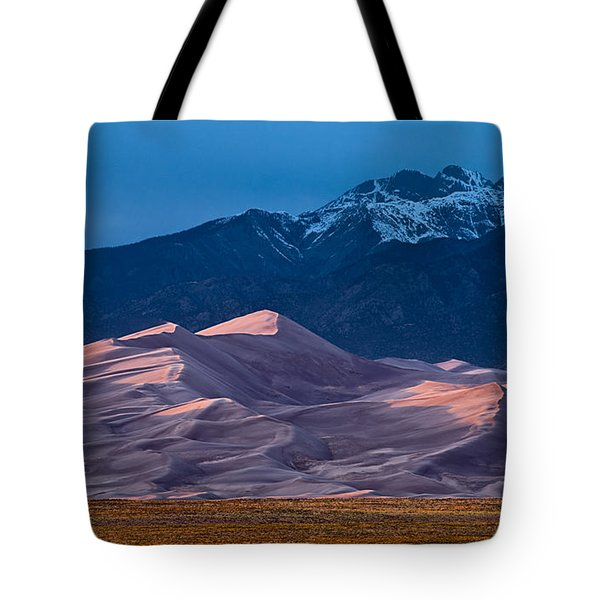 Great Sand Dunes  Colorado Tote Bag by Steve Gadomski