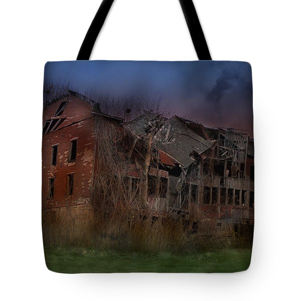 Green Acres Tote Bag by Shelley Neff