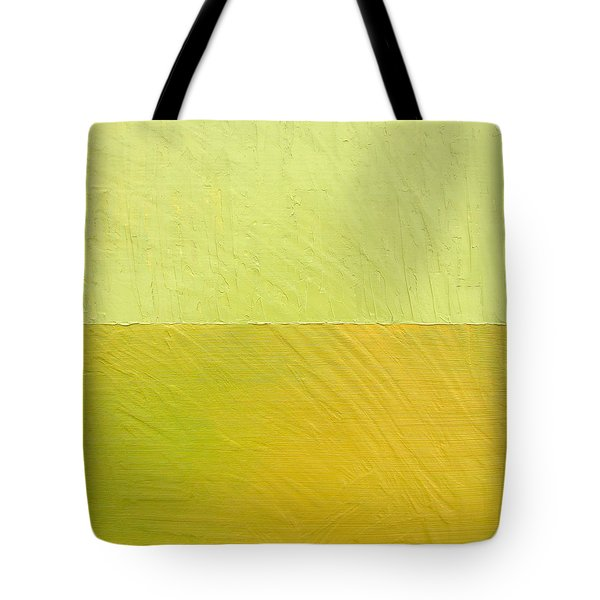 Green And Greenish Tote Bag by Michelle Calkins