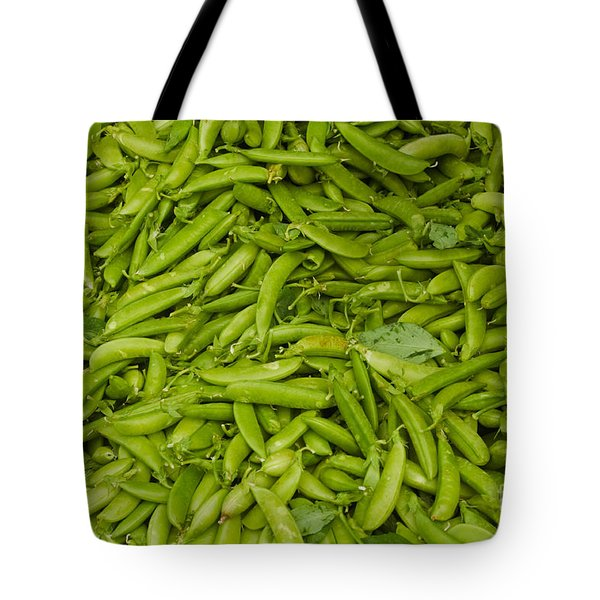 Green Beans Tote Bag by Thomas Marchessault