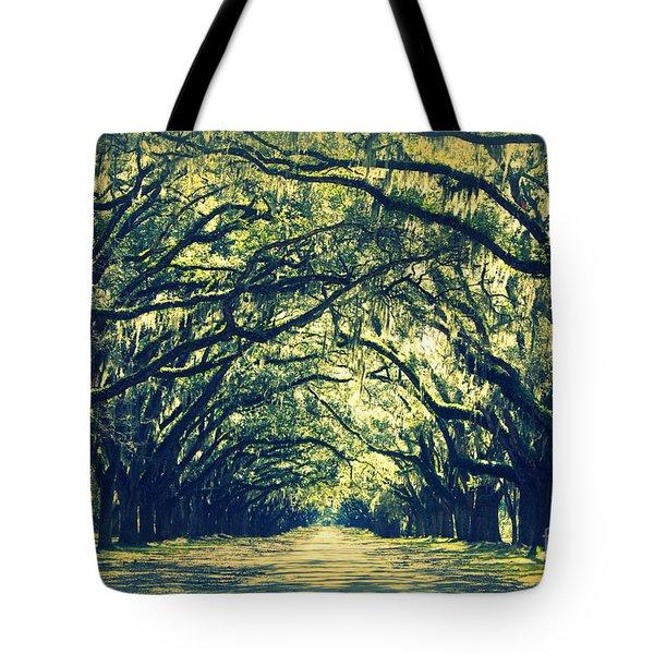 Green World Tote Bag by Carol Groenen