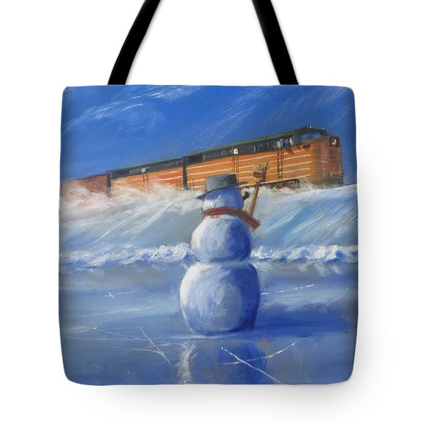 Greetings Tote Bag by Christopher Jenkins