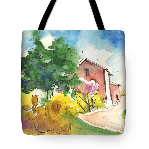 Greve in Chianti in Italy 01 Tote Bag by Miki De Goodaboom