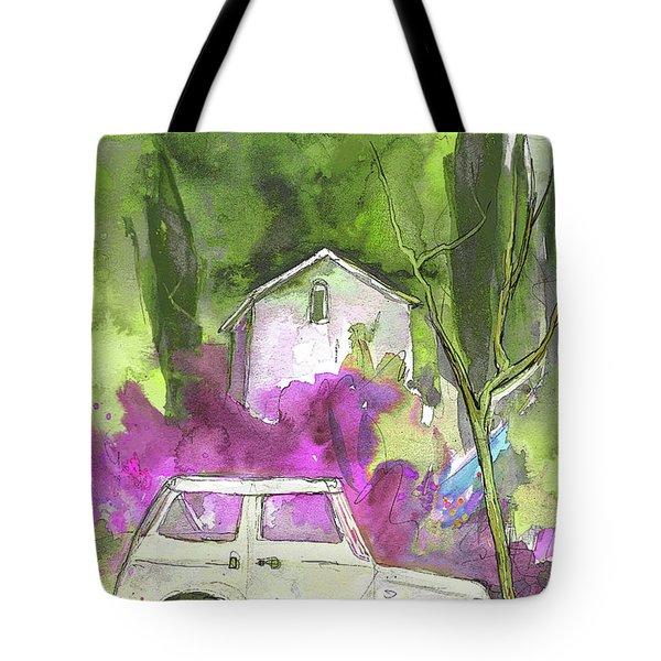Greve in Chianti in Italy 02 Tote Bag by Miki De Goodaboom