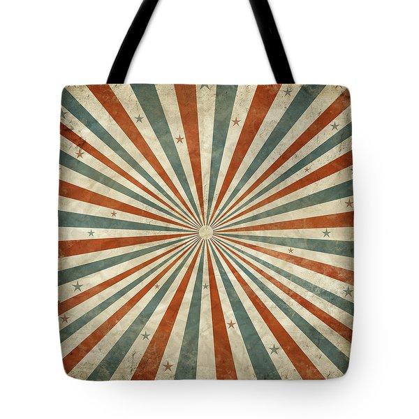 grunge ray retro design Tote Bag by Setsiri Silapasuwanchai
