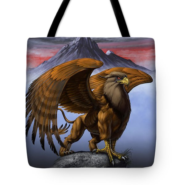 Gryphon Tote Bag by Stanley Morrison