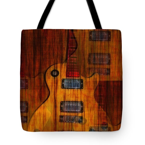 Guitar Army Tote Bag by Bill Cannon