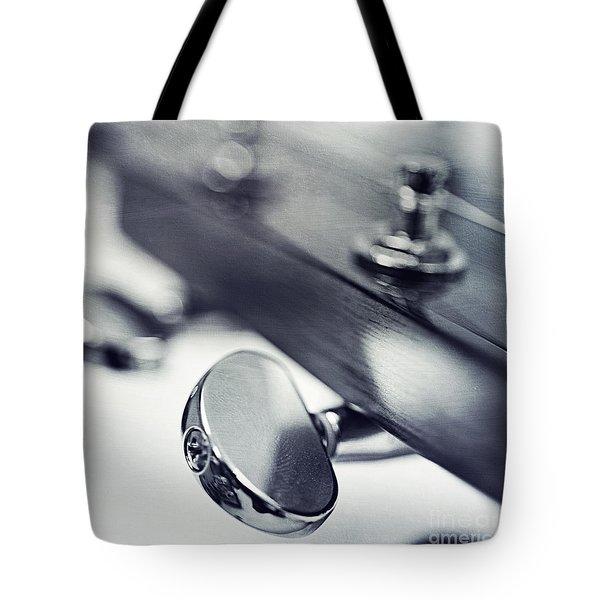 guitar I Tote Bag by Priska Wettstein