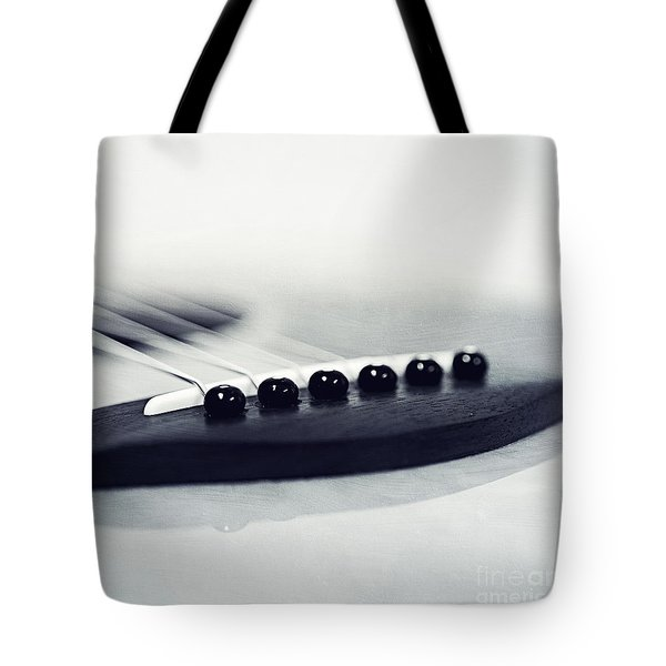 guitar II Tote Bag by Priska Wettstein