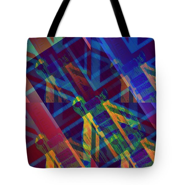 Guitar Revolution Tote Bag by Bill Cannon