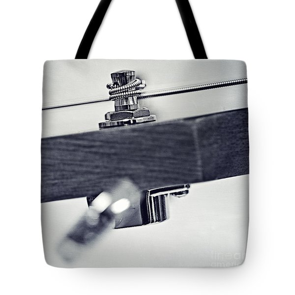 guitar V Tote Bag by Priska Wettstein