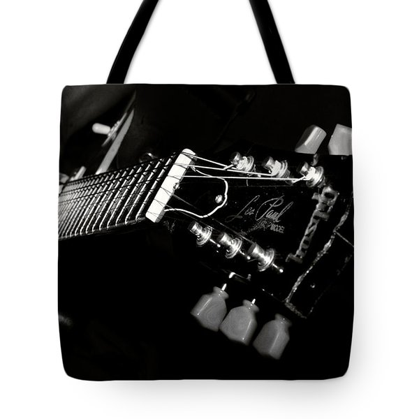 guitarist Tote Bag by Stylianos Kleanthous