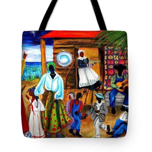 Gullah Christmas Tote Bag by Diane Britton Dunham