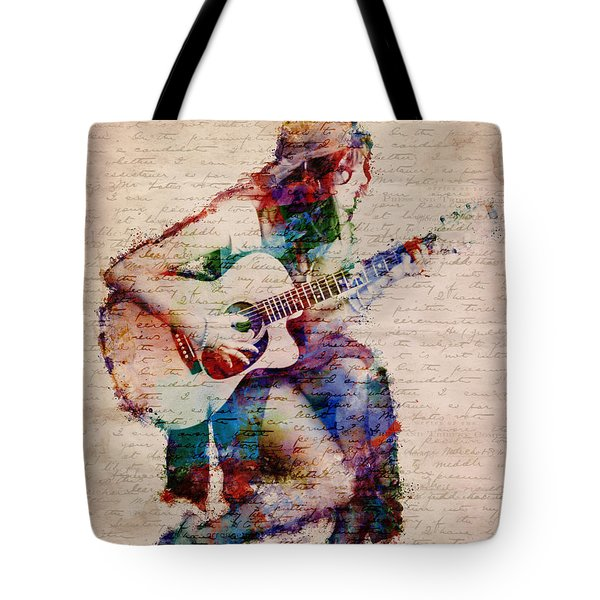 Gypsy Serenade Tote Bag by Nikki Smith