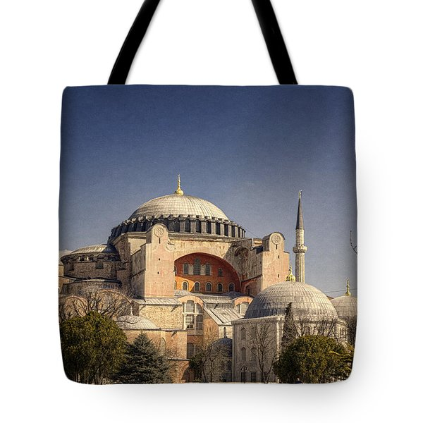 Hagia Sophia Tote Bag by Joan Carroll